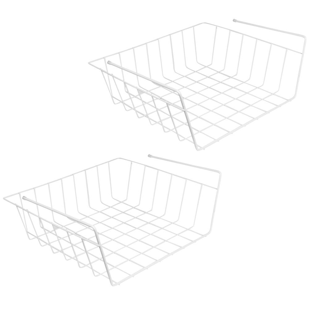 ClosetMaid 144 in. W x 20 in. D White Steel Close Mesh