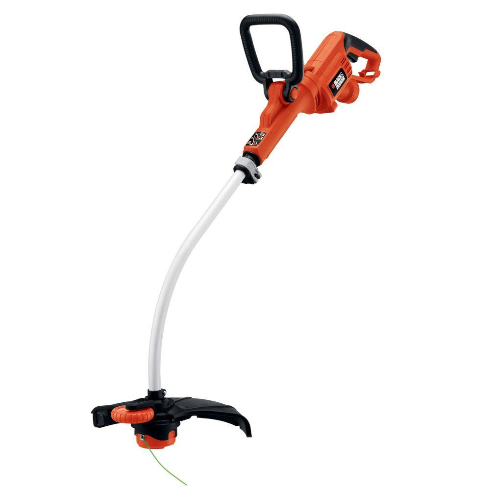 BLACK+DECKER 14 in. 7.5-Amp Corded Electric Curved Shaft