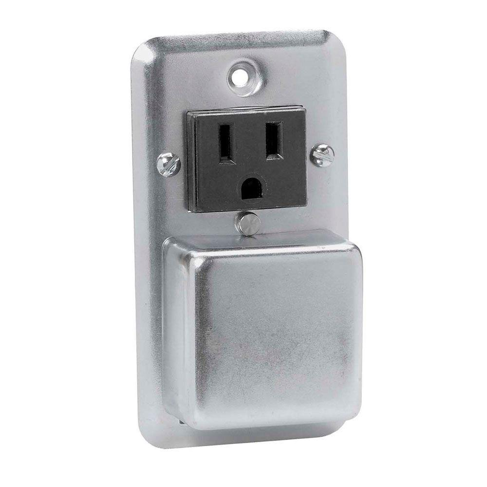 hight resolution of cooper bussmann plug fuse holder with outlet box cover unit
