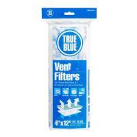 True Blue 12 in. x 4 in. Electrostatic FPR 2 Vent Filter ...