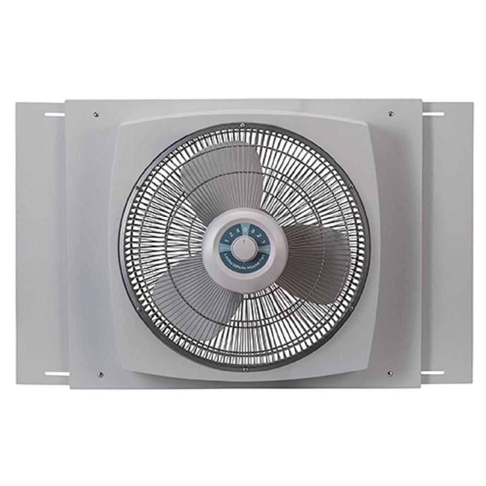 medium resolution of window fan with ez dial ventilation w16900 the home depot