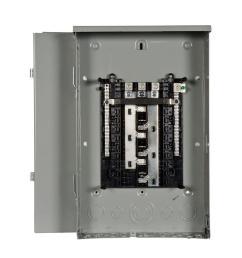 es series 150 amp 18 space 36 circuit main lug outdoor 3 phase [ 1000 x 1000 Pixel ]