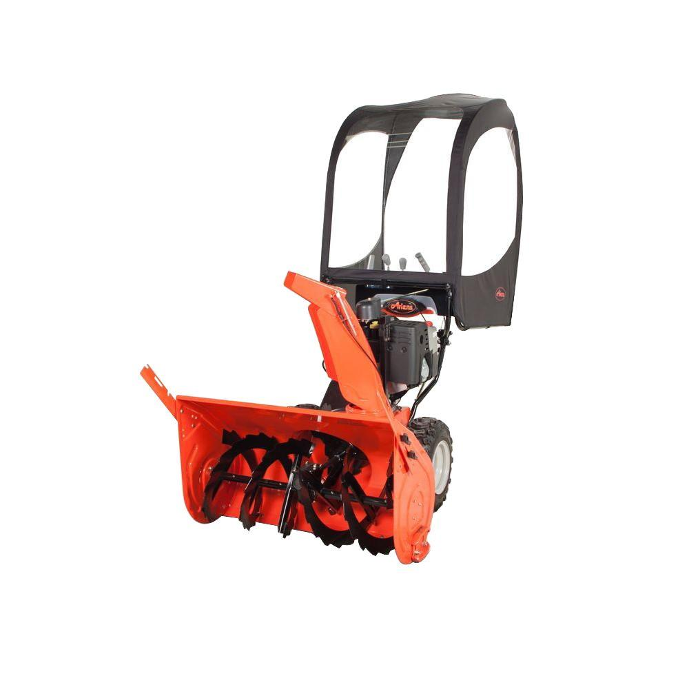 hight resolution of ariens 2 stage snow cab enclosure gas snow blowers
