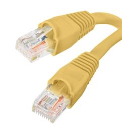 this review is from 15 ft cat5e utp ethernet cable yellow [ 1000 x 1000 Pixel ]