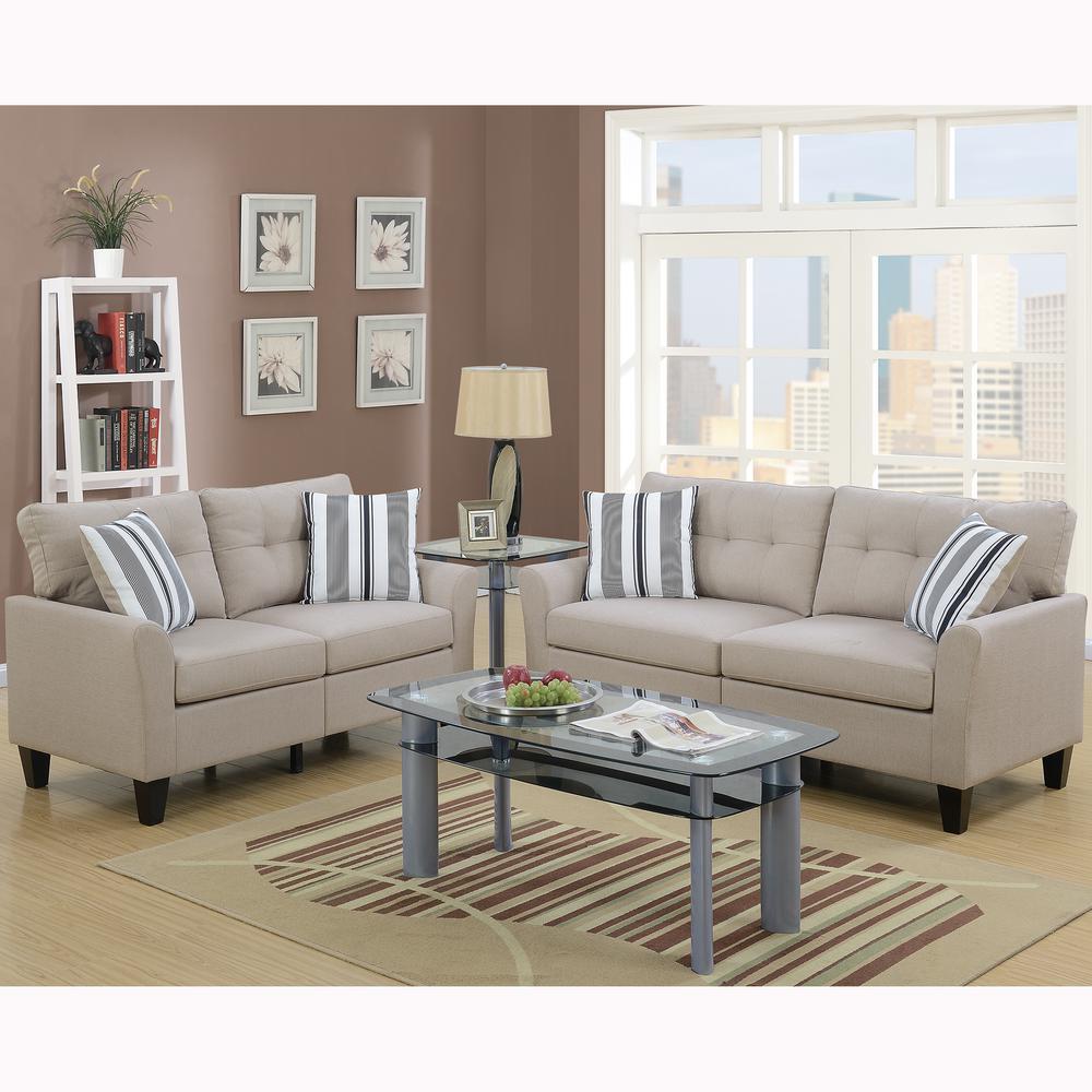 cheap 2 piece living room sets coffee table in venetian worldwide sardinia beige sofa set vene f6534 the