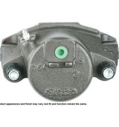 disc brake caliper 1993 1998 nissan quest [ 1000 x 1000 Pixel ]