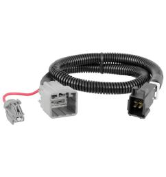 curt custom trailer brake controller wiring harness 51453 the home [ 1000 x 1000 Pixel ]