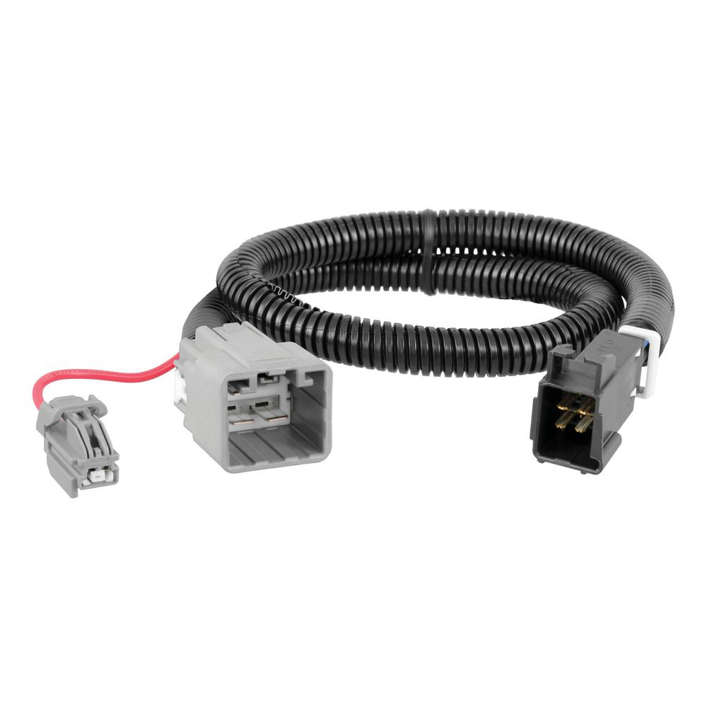 medium resolution of curt custom trailer brake controller wiring harness 51453 the home