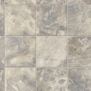 TrafficMASTER Neutral Square Slate 12 ft Wide x Your
