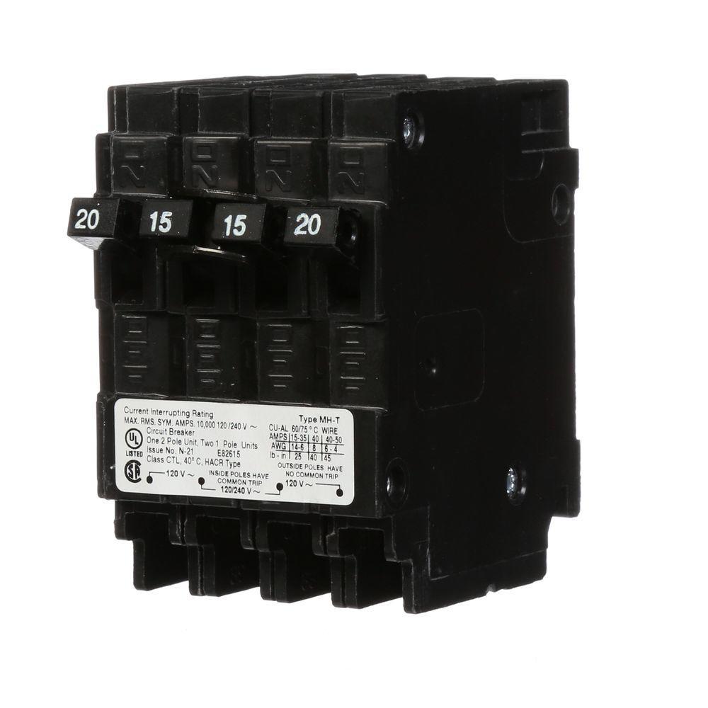 Type Mpt Quad Plugin Circuit Breakermp230230ct2 The Home Depot