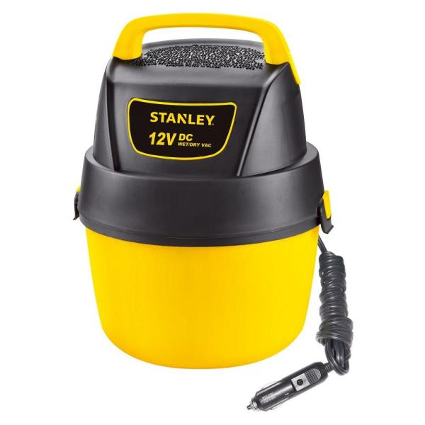 Stanley 1 Gal. 12-volt Dc Wet Dry Vacuum-sl18125dc - Home Depot