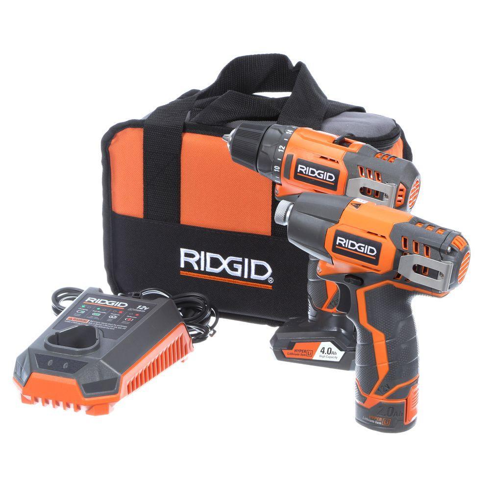 Ridgid Battery Tools