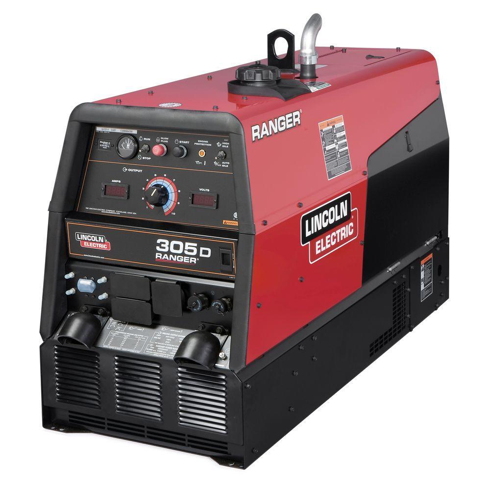 hight resolution of 300 amp ranger 305 d diesel engine driven multi process dc welder 10 kw peak generator kubota tier 4 diesel write a review
