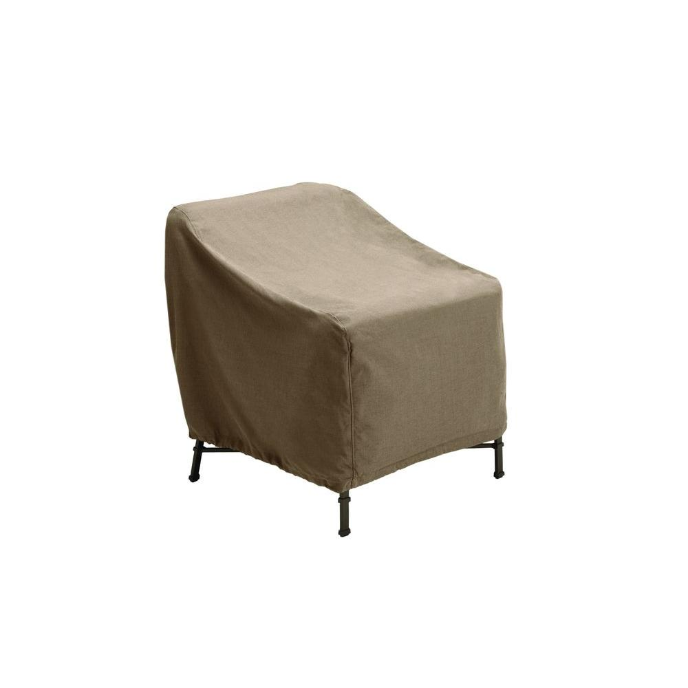 home depot outdoor patio chair covers ergonomic best 2018 brown jordan greystone furniture cover for the lounge or motion chair-3870 ...