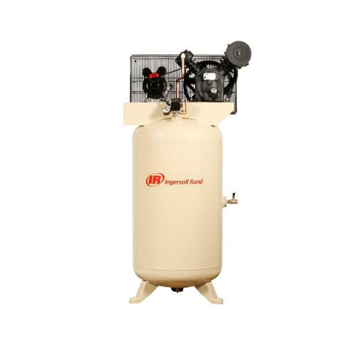 small resolution of ingersoll rand type 30 reciprocating 80 gal 5 hp electric 230 volt single phase air compressor