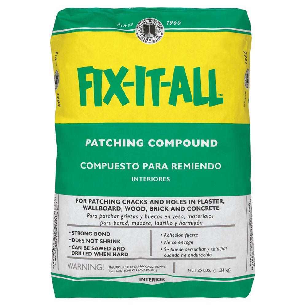 Fix It All Patching Compound Ingredients