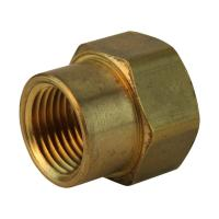 Everbilt Lead-Free Brass Garden Hose Adapter 3/4 in. FHT x ...
