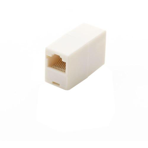 small resolution of commercial electric in line ethernet cord coupler almond