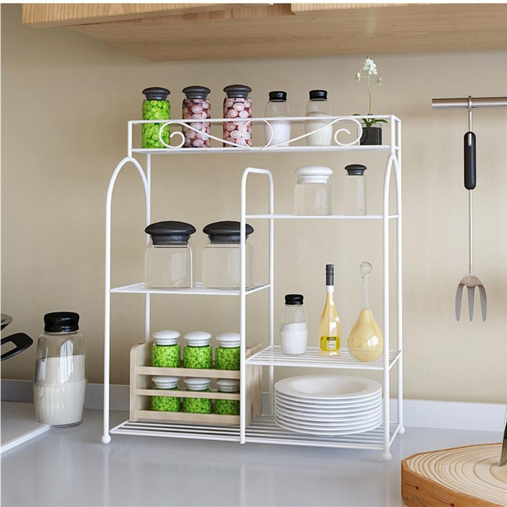 HoneyCanDo 18 in x 12 in Kitchen Organizer RackKCH