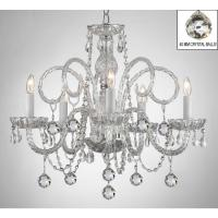 Murano Empress Crystal 5-Light Chandelier with Faceted ...
