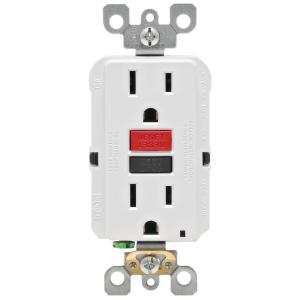 gfci outlet with switch wiring diagram msd 6a chevy hei leviton 15 amp self test smartlockpro slim duplex white 125 volt tamper resistant