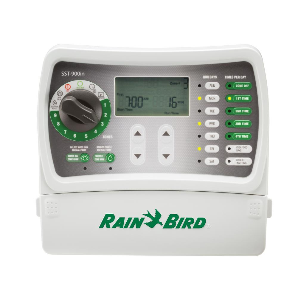 hight resolution of rain bird 9 station indoor simple to set irrigation timer sst900in