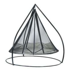 Steel Chair For Tent House Hanging Near Me Free Shipping Stand Included Patio Swings Chairs Flying Saucer Set Metal Swing