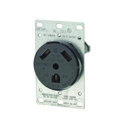 black leviton outlets receptacles r50 07313 000 64 1000 leviton 30 amp flush mount power single outlet [ 1000 x 1000 Pixel ]