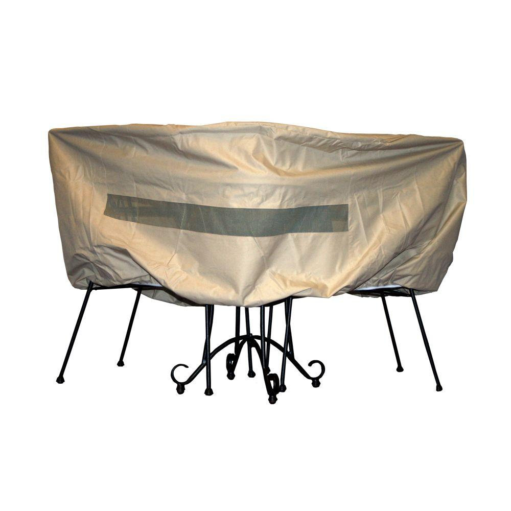 Hearth  Garden Polyester Patio Bistro Table and Chair Set Cover with PVC CoatingSF40252  The