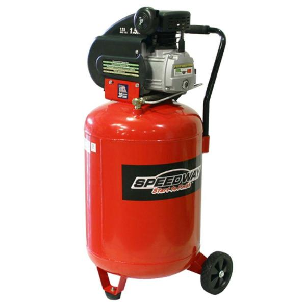 Speedway 20 Gal. 2 Hp Vertical Air Compressor-7342