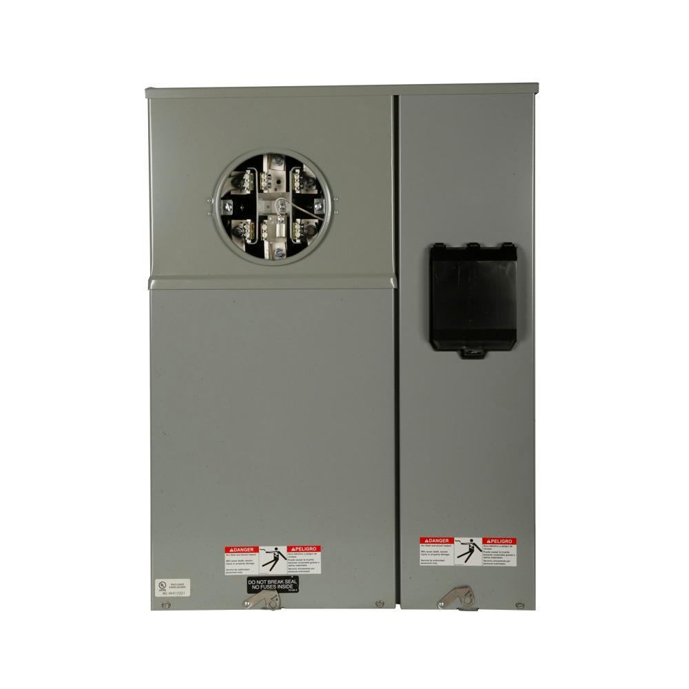 medium resolution of 200 amp type ch commercial meter breaker meter socket panel