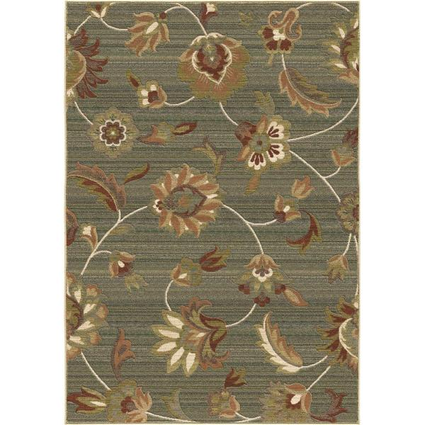 Orian Rugs Como Rouge 5 Ft. 3 In. X 7 6 Area Rug