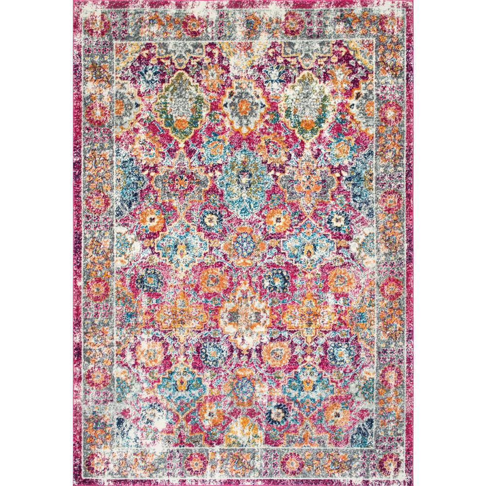 nuLOOM Persian Vintage Arla Fuchsia 9 ft x 12 ft Area RugRZBD42A9012  The Home Depot