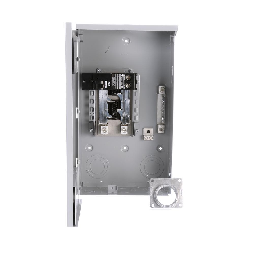 medium resolution of siemens eq 200 amp 4 space 8 circuit outdoor mobile home main breaker load