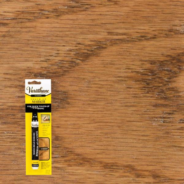 Varathane .33 Oz. Cherry Wood Stain Furniture & Floor Touch- Marker-340257 - Home Depot