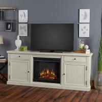 Real Flame Cassidy 69 in. Entertainment Center Electric ...