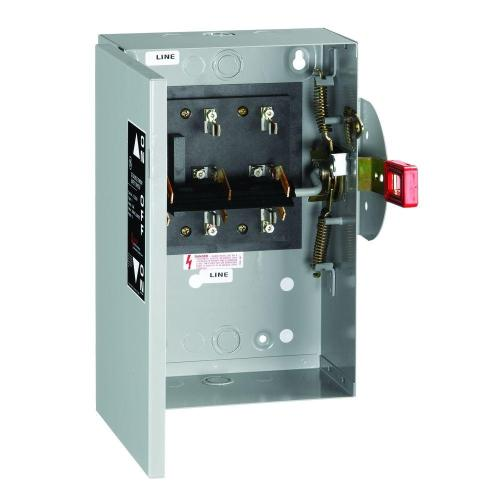 small resolution of ge 30 amp 240 volt non fused indoor general duty double throw