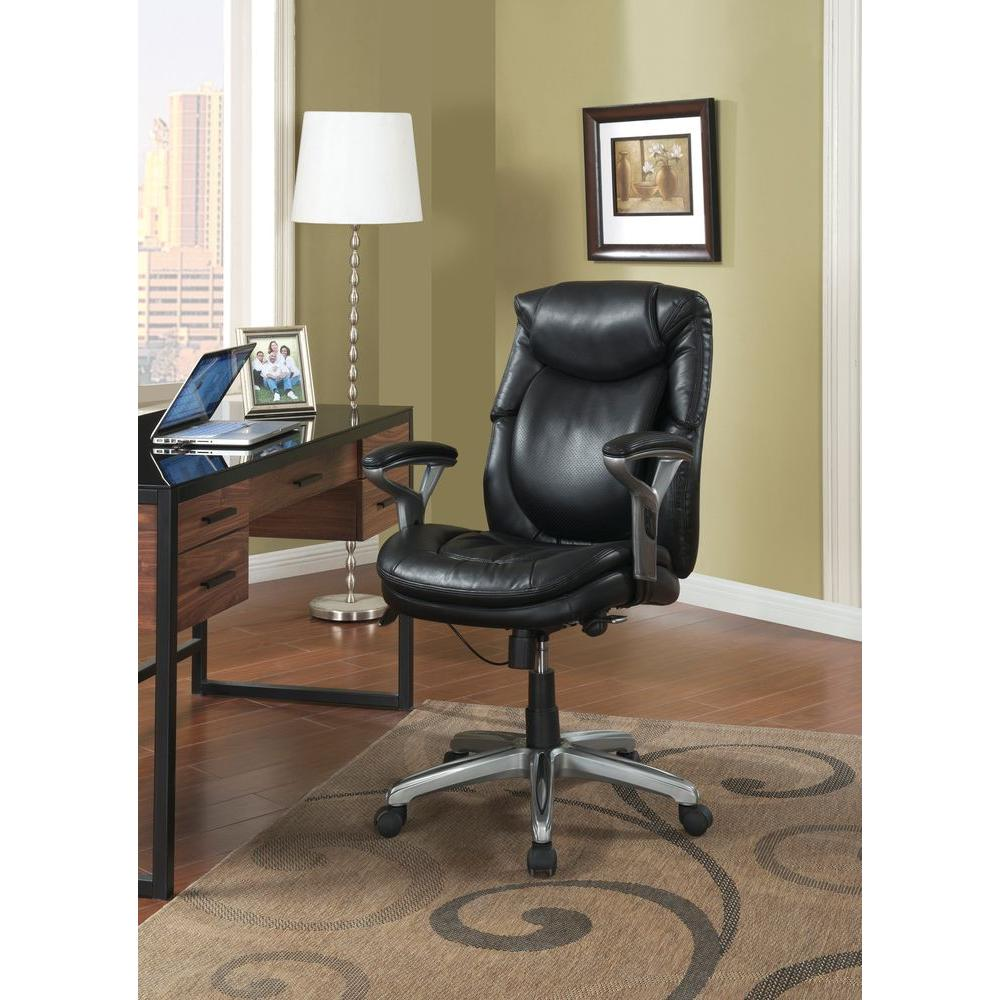design chair for you best home office serta wellness by black bonded leather mid back