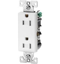 eaton aspire 15 amp tamper resistant duplex receptacle white satin [ 1000 x 1000 Pixel ]