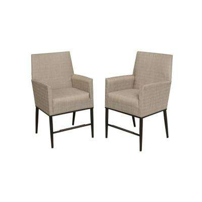 redo sling patio chairs pedicure chair cover outdoor bar stools furniture the home depot aria high dining 2 pack