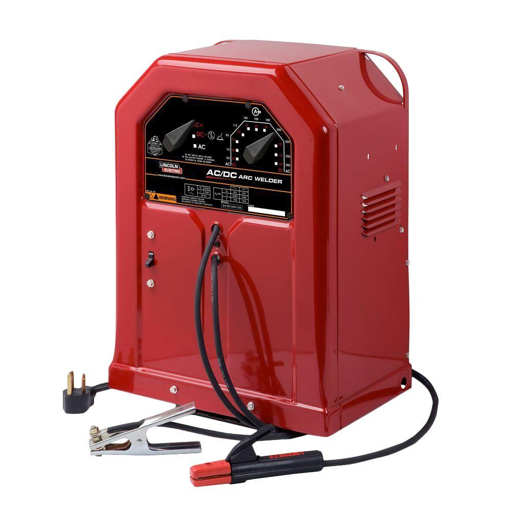 hight resolution of lincoln electric 225 amp ac and 125 amp dc arc stick welder ac dc