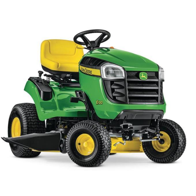E100 42 in. 17.5 HP Gas Automatic Lawn Tractor