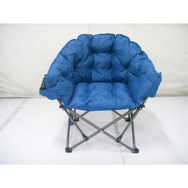 Blue Padded Club Chair-fc-332xl - Home Depot