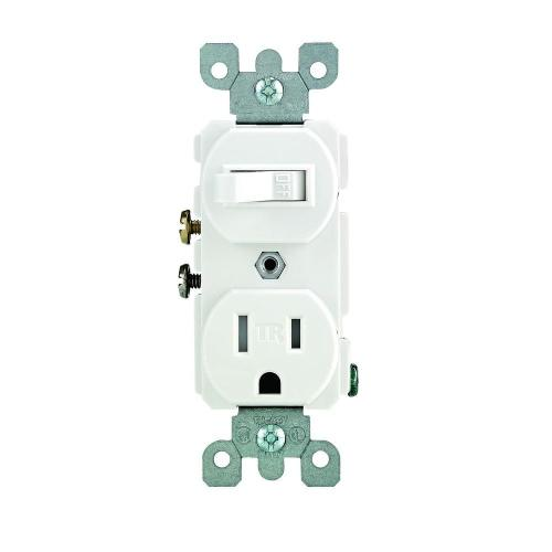 small resolution of 15 amp tamper resistant combination switch and outlet white