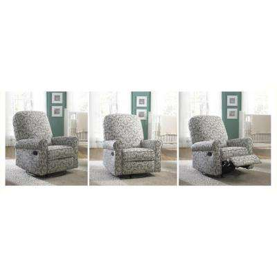 swivel reclining chairs for living room white furniture ideas apartments recliners the home depot ash grey fabric recliner