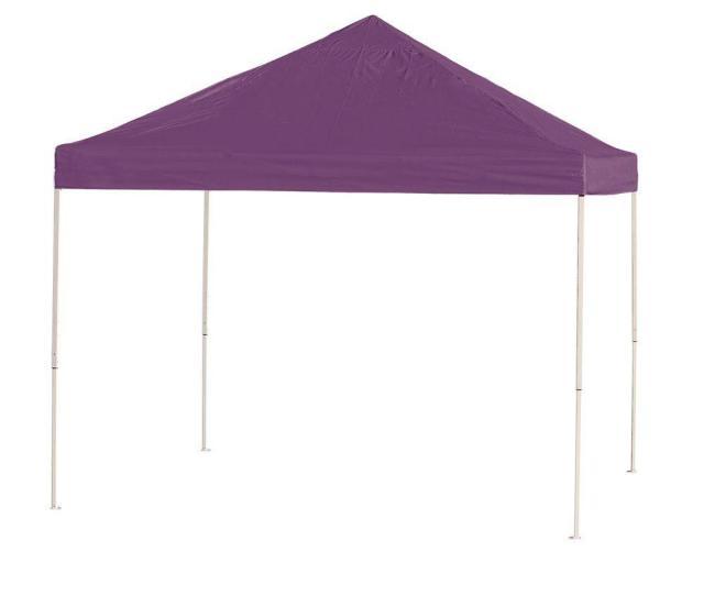 Shelterlogic  Ft X  Ft Purple Straight Leg Pop Up Canopy