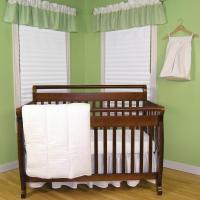 Trend Lab Pique White 3-Piece Crib Bedding Set-PQ3P - The ...