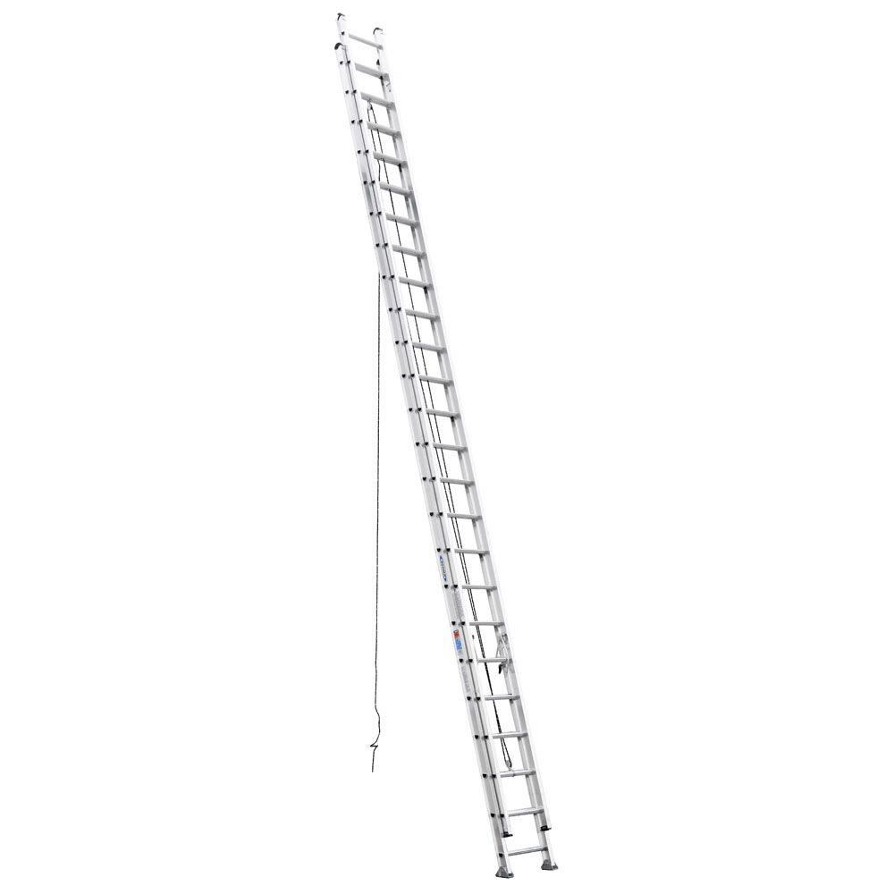Werner 48 ft. Aluminum D-Rung Extension Ladder with 300 lb