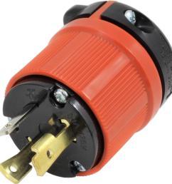 ac works ac connectors nema l5 30p 30 amp 125 volt 3 prong assembly l5 30p wiring ac plug  [ 1000 x 1000 Pixel ]