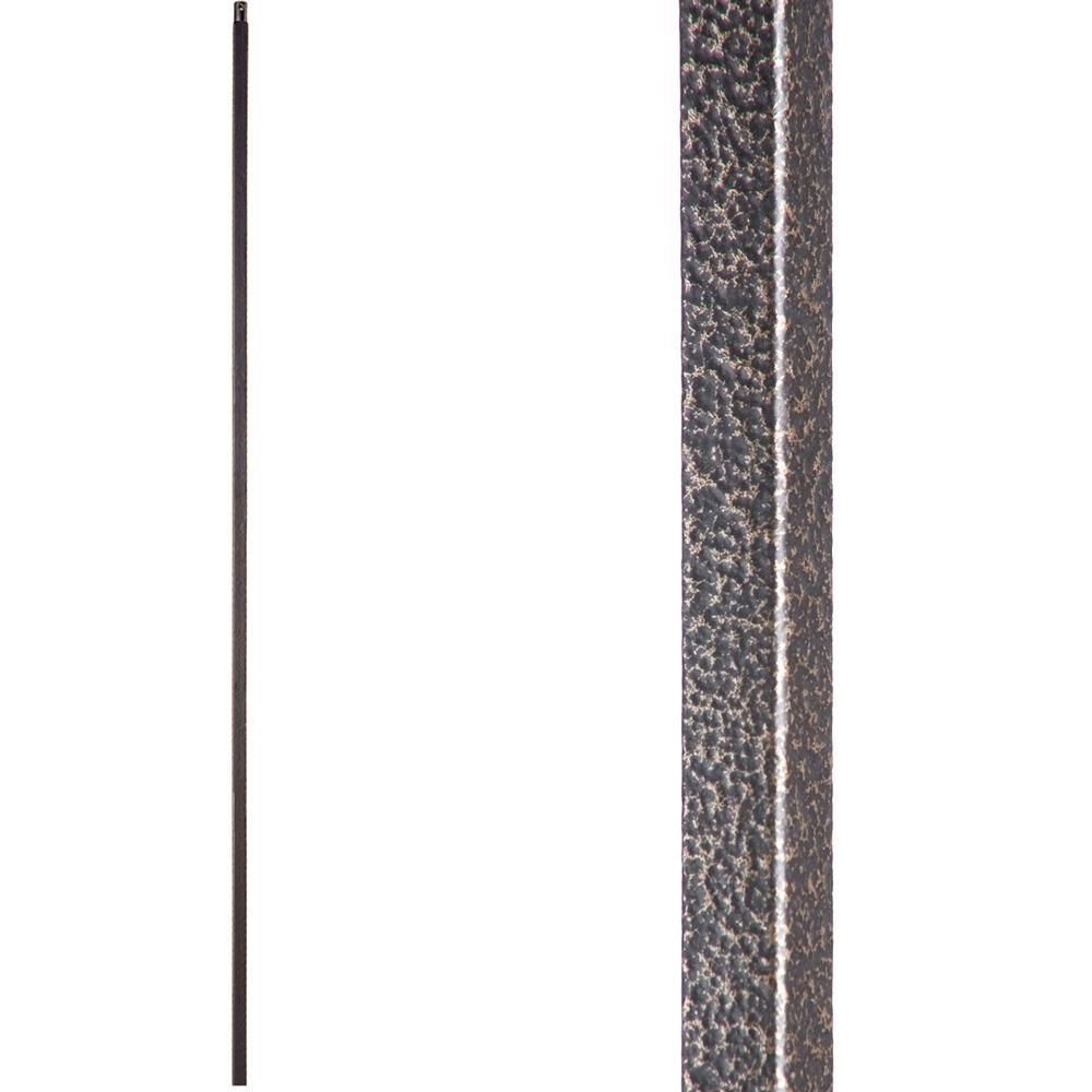 House Of Forgings Versatile 44 In X 5 In Copper Vein Plain | House Of Forgings Balusters | Oval | Contemporary | Oil Rubbed | Modern | Forged Steel